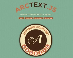 Arc Text