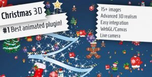 Christmas 3D – jQuery Plugin