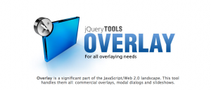 jQuery Overlay (jQuery Tools)