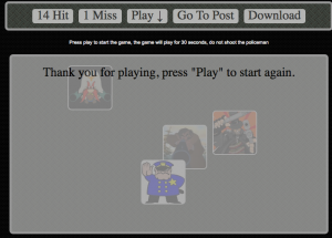 JQuery Browser Shooting Game