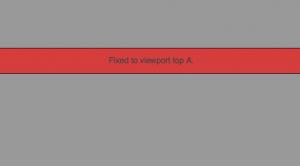 Fixed Sticky jQuery Plugin